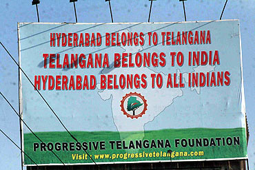 Separate Telangana, United Andhra among options