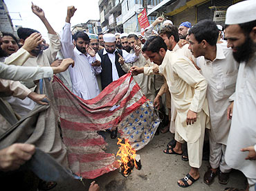 Anti-US protests in Pakistan