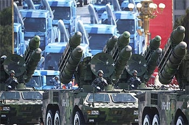 A PLA parade in Beijing