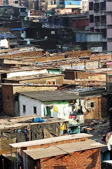 Some parts of 'Slumdog Millionaire' were shot in the slums of Dharavi in Mumbai