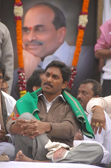 Jaganmohan Reddy in New Delhi