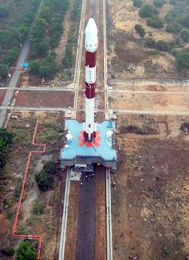 The satellites will be launched by ISRO's PSLV rocket