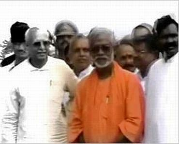 File photograph of Swami Aseemanand