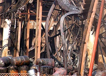 Intial reports suggest that a short circuit could have triggered the fire