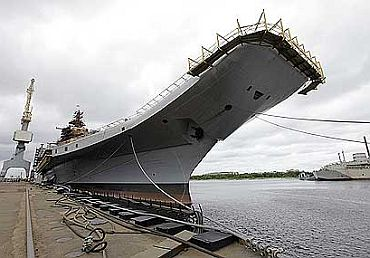 File photo of Admiral Gorshkov aircraft carrier