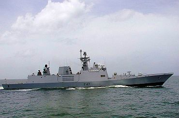 INS Shivalik, India's stealth frigate