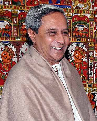 Odisha Chief Minister Naveen Patnaik