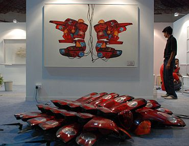 Why MF Husain was shown the door at Delhi art fair