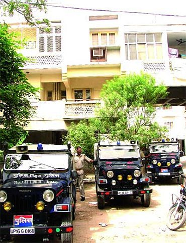 File photo of the Talwar residence