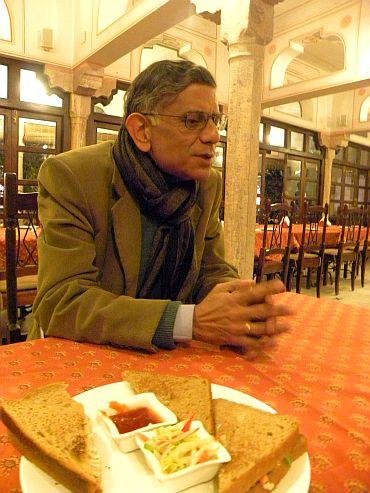 Veteran journalist Sunil Sethi