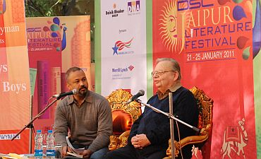 Ruskin Bond in conversation with Ravi Singh