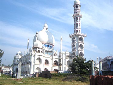 The main building of the Deoband madrasa