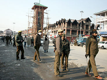 Security has been beefed up in Jammu, ahead of the yatra