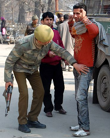 Security beefed up in Jammu ahead of the rally