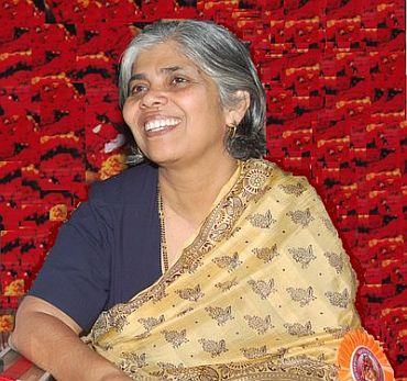 Retired IAS officer Leena Mehendale