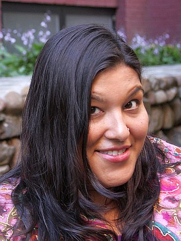 New York-born author S Mitra Kalita