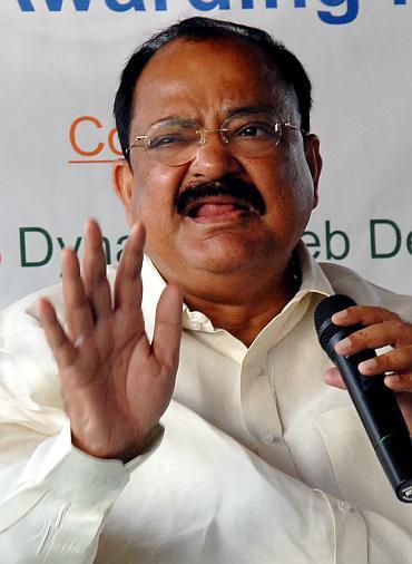 Senior BJP leader Venkaiah Naidu