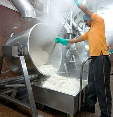 'We have machines that can prepare 40,000 chapattis in an hour'