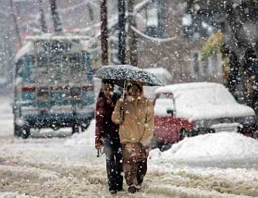 Harshest winter time is over in Kashmir