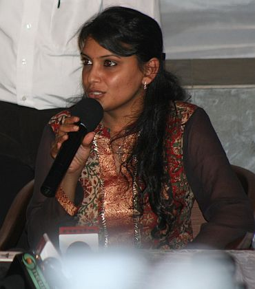 Maria Susairaj after her release