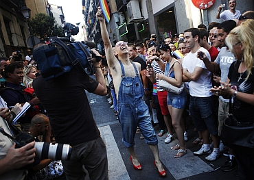 Parading around the world queer, colourful