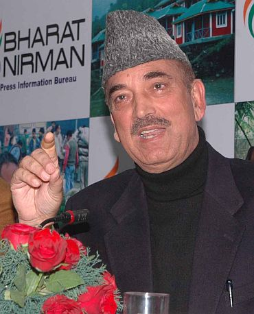 Ghulam Nabi Azad, Congress general secretary in-charge of Andhra Pradesh