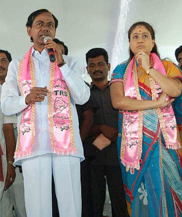 'If Congress creates Telangana, TRS will back it in polls'