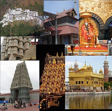 Some of the richest temples in India