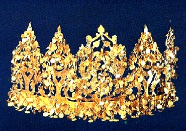 A crown, from the treasure