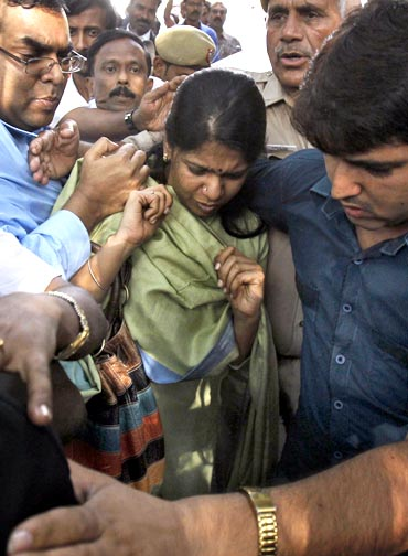 Kanimozhi was arrested on May 20