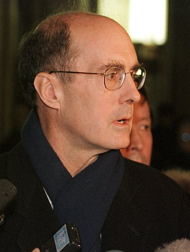 Strobe Talbott, part of former US President Bill Clinton's administration, with whom Jaswant Singh conducted a series of deliberations that took Indo-US relations to a new high, after plummeting post-Pokhran II