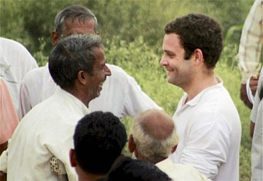 Rahul Gandhi touched an emotional chord as heard villagers out
