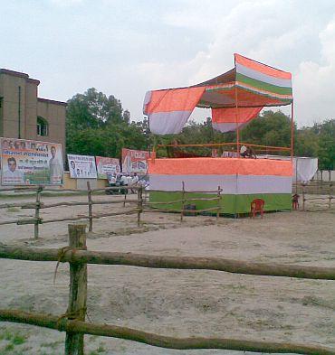 All set for Rahul's Kisan Mahapanchayat
