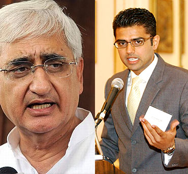 Salman Khurshid, Sachin Pilot among other Congress leaders attended the kisan mahapanchayat