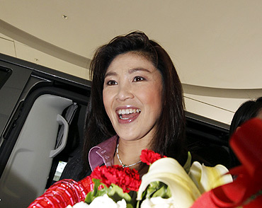 Yingluck Shinawatra, prime minister of Thailand