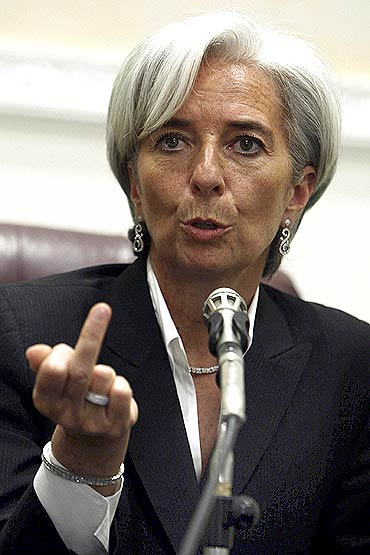 Christine Lagarde, Managing Director of IMF