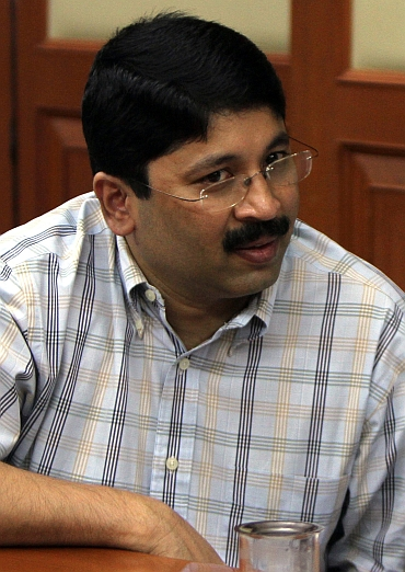 Dayanidhi Maran quit from the cabinet on Thursday