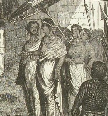 Picture of Umayamma Rani of Travancore