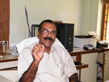 P J Cherian, director, Kerala Council for Historical Research