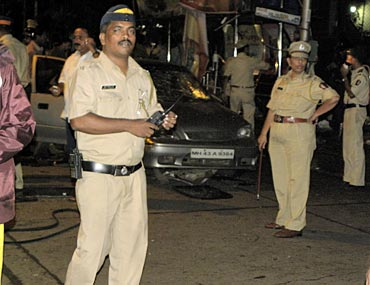 A Navi Mumbai registered sedan was the worst hit