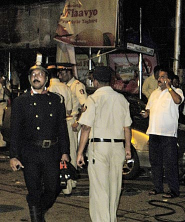 First PHOTOS of the Dadar blast