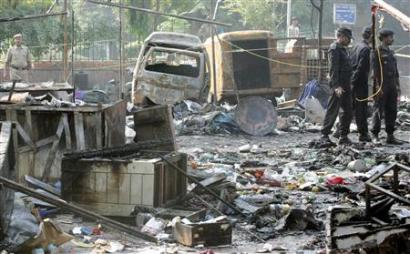 Delhi blasts took a heavy toll on human life.