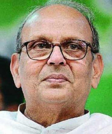 Former Prime Minister V P Singh