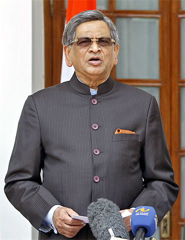 A file photo of S M Krishna