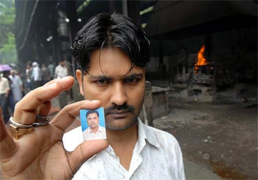 Mahanth Mandal lost his brother in the serial blasts