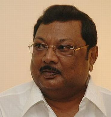 Cabinet minister M K Alagiri