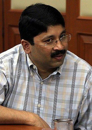 Former Union Minister Dayanidhi Maran