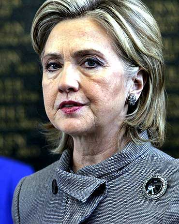 US Secretary of State Hillary Clinton
