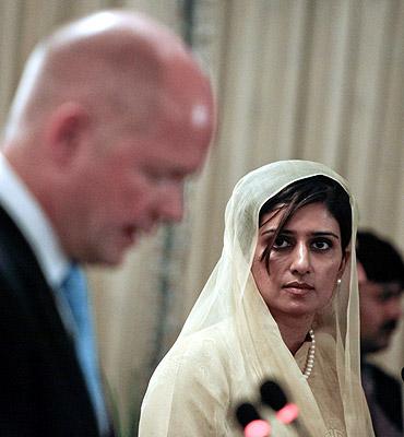 Hina Rabbani Khar, Pakistan's new foreign minister