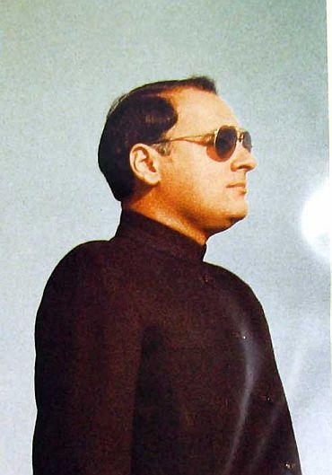 Former PM Rajiv Gandhi